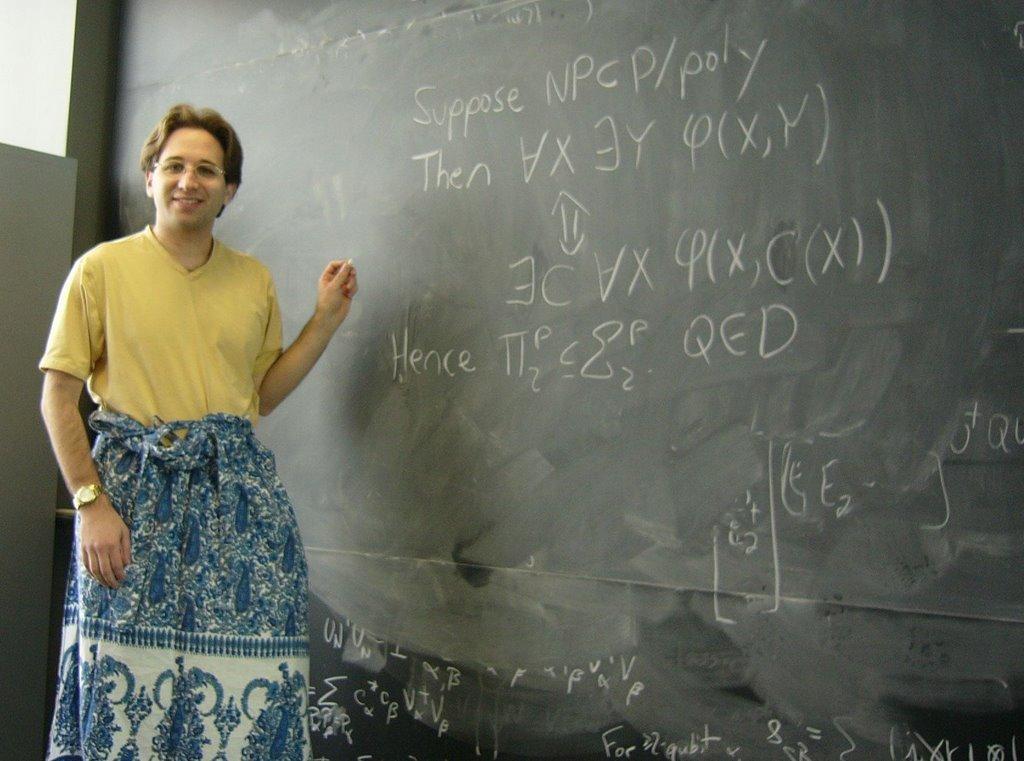Shtetl-Optimized » Blog Archive » Today I am a mathematician